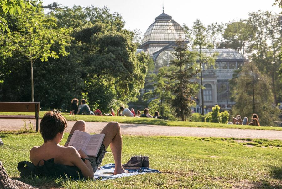 Parque del Retiro verano