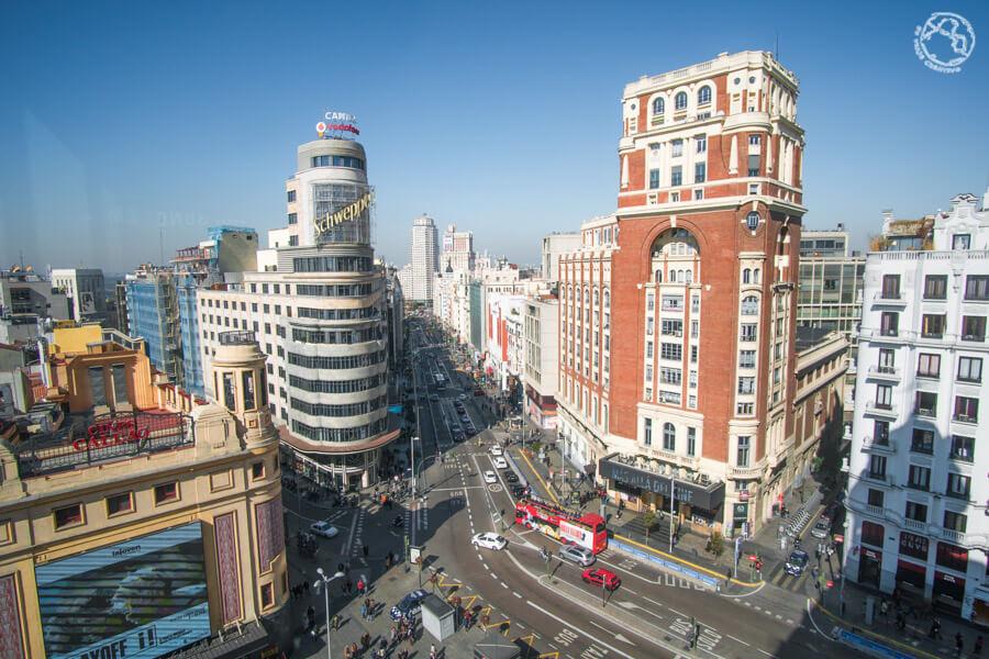 Mirador Madrid Callao Corte Ingles