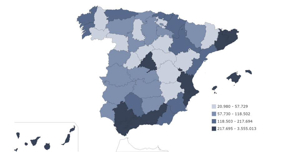 Mapa De España Bonito.Que Ver En Ourense Provincia Ruta Circular Por La Gran