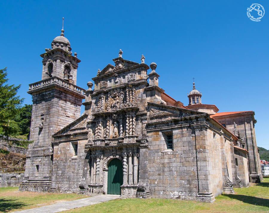 Qué visitar en Ourense Iglesia Santa María la Real de Entrimo
