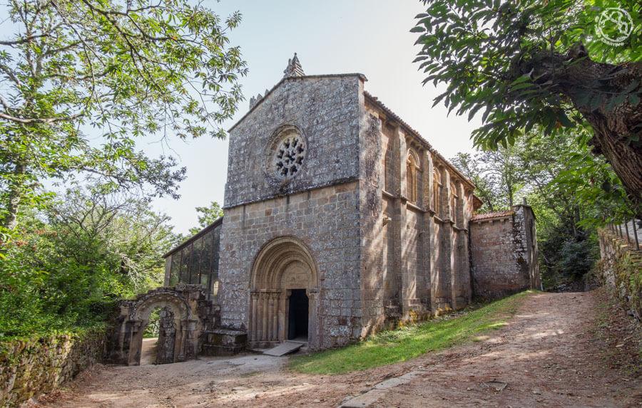 monasterio iglesia de Santa Cristina, Ribeira Sacra