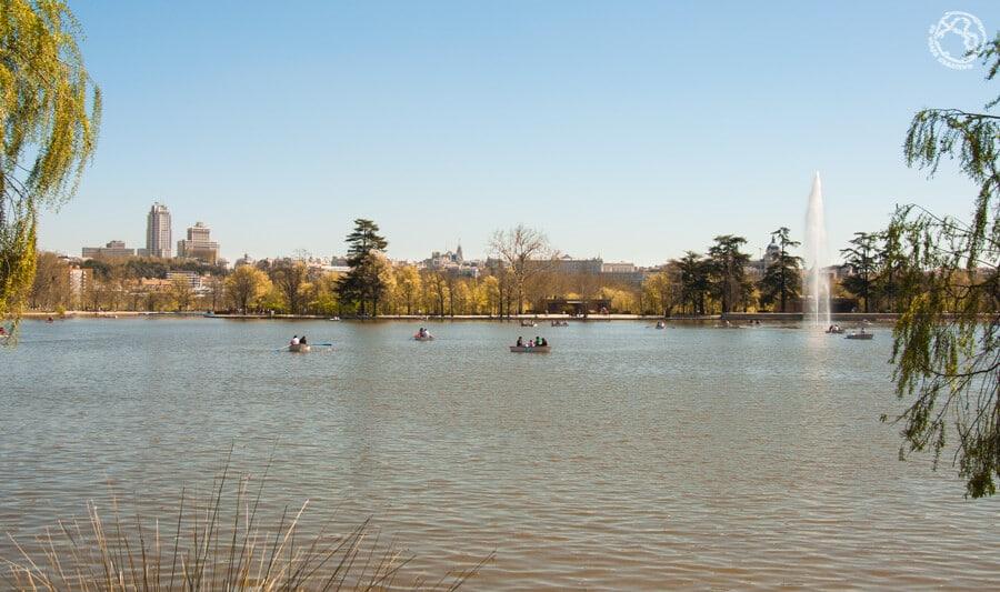 Mirador Lago casa de Campo