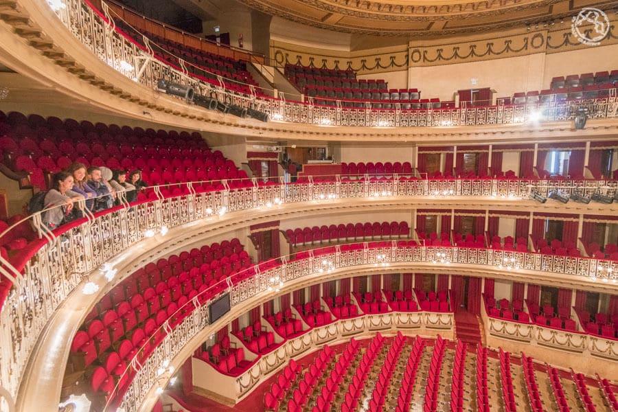 Teatro Campoamor, Oviedo, Príncipe de Asturias