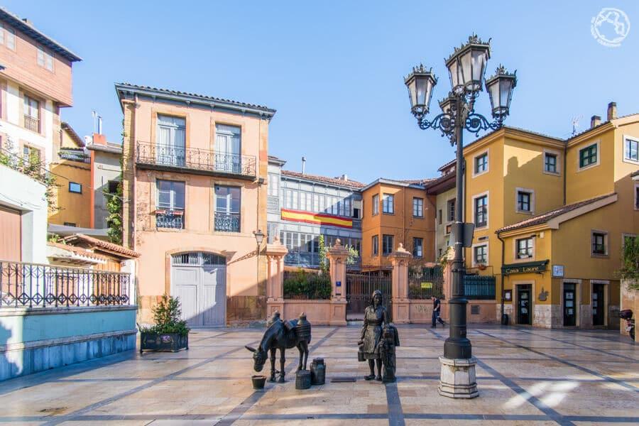 Plazas de Oviedo, qué ver en Oviedo