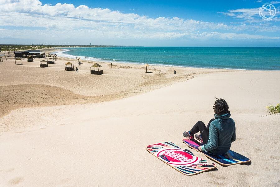 Playa Piedras Coloradas, Las Grutas