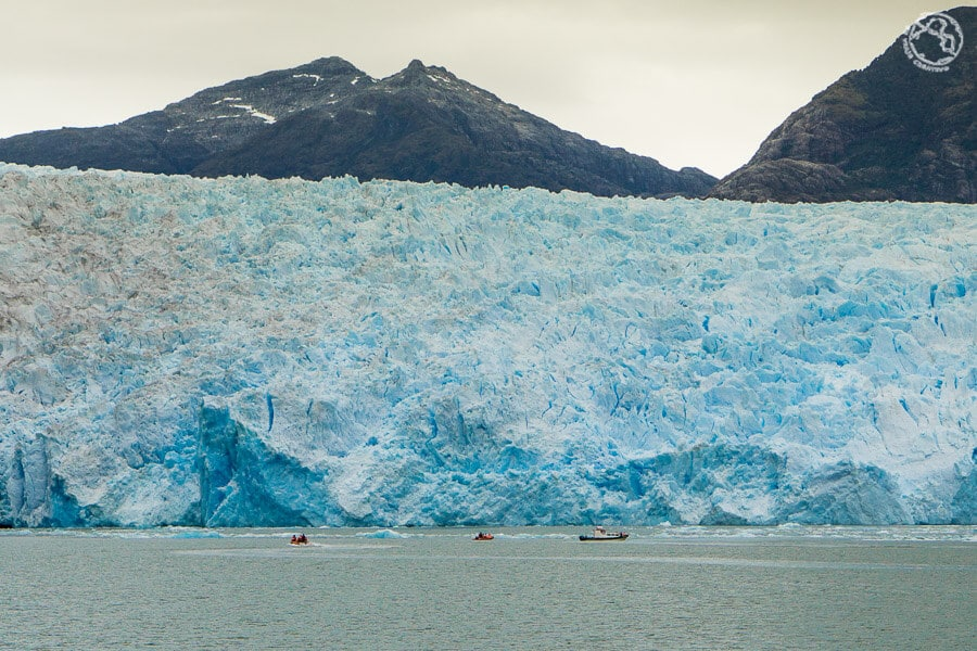 Glaciar San Rafael en laguna San Rafael