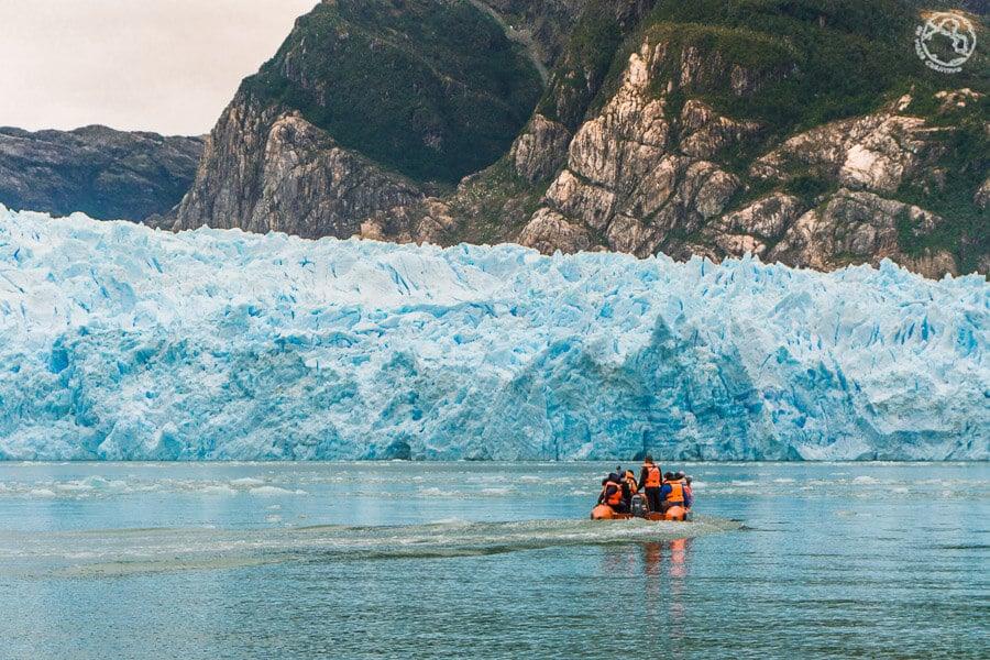 tour a la laguna San Rafael y glaciar San Rafael