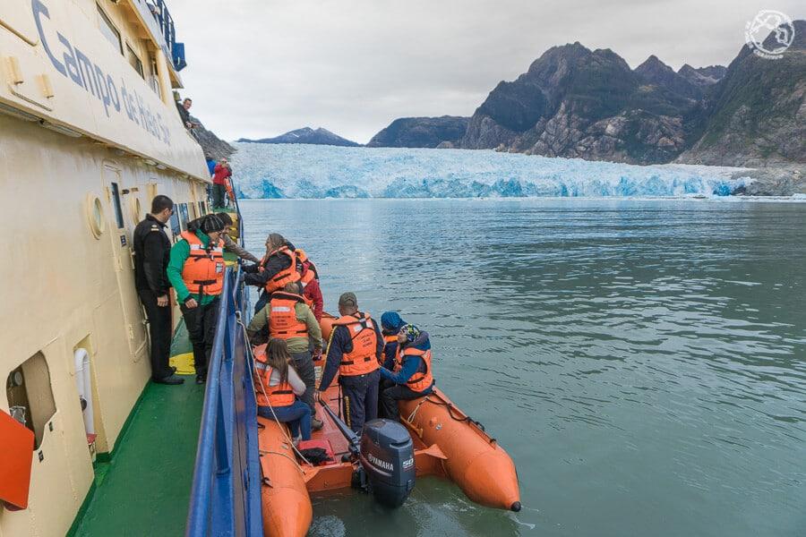 tour glaciar San Rafael