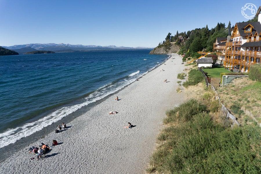 Playas en Bariloche