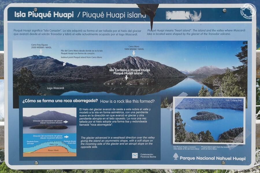 La isla con forma de Corazón, en el parque Nahuel Huapi