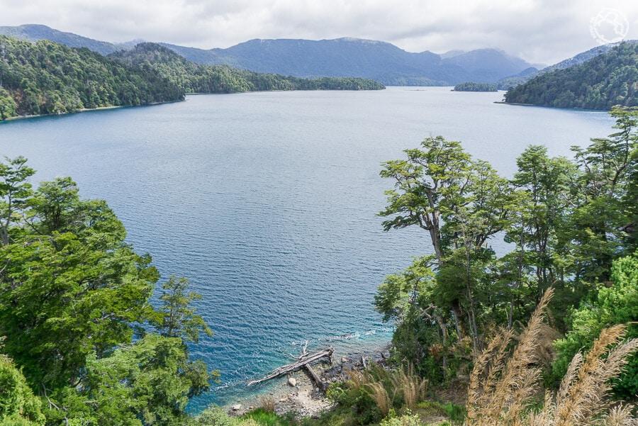 Ruta de los 7 lagos, lago Espejo