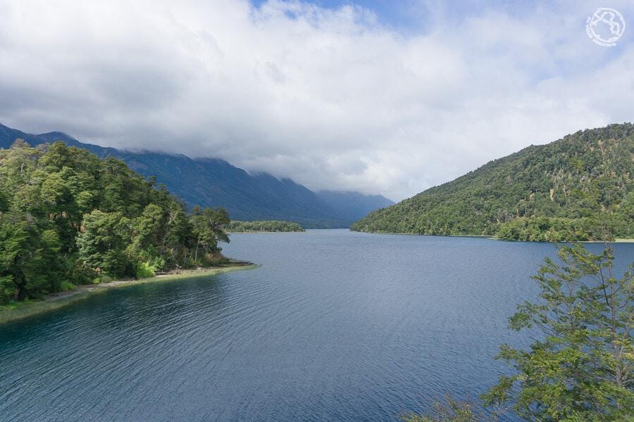 Mirador lago Falkner, ruta de los 7 lagos