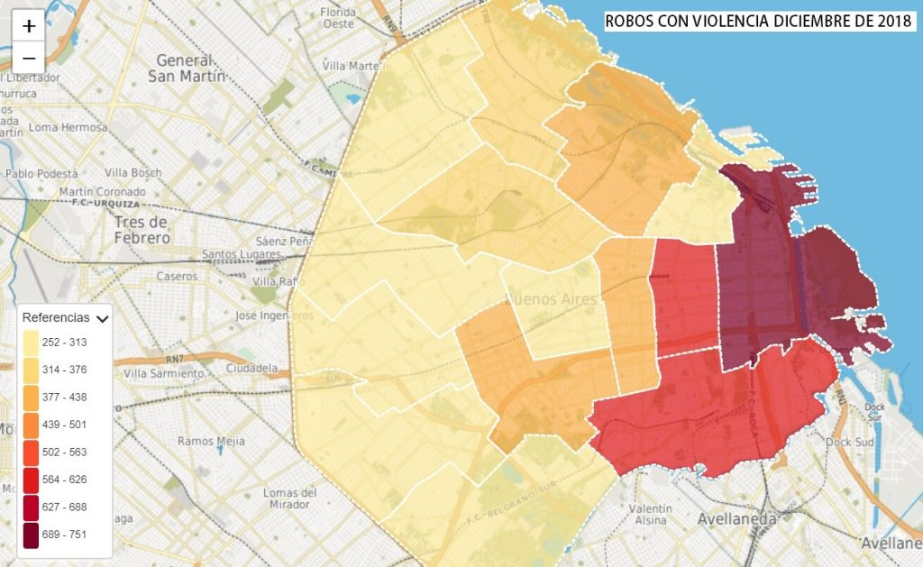 Zonas más peligrosas de Buenos Aires