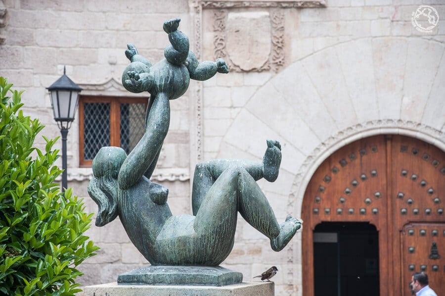 Estatua de Baltasar Lobo en Zamora
