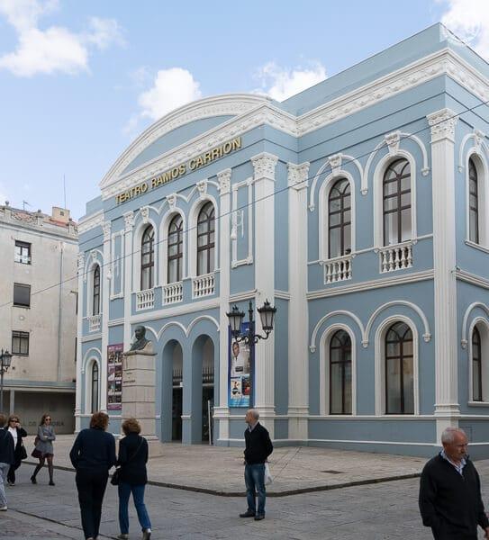 Teatro Ramos Carrión, en Zamora