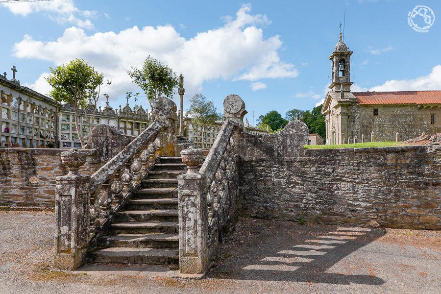 iglesia parroquial de San Cristovo de Xavestre Trazo