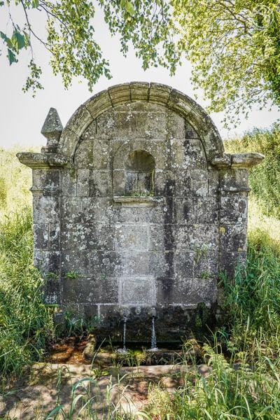 Fuente de Santa Eufemia Trazo