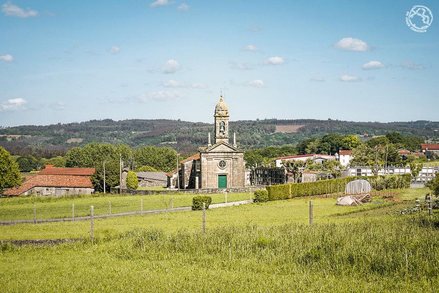 Santa María de Chaián Trazo