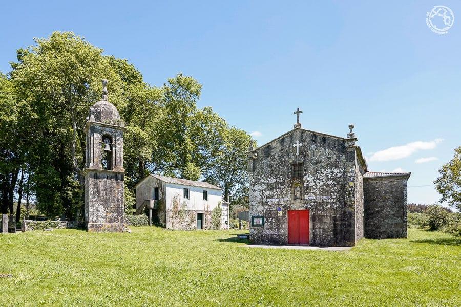 iglesia de San Mamede de Berreo Trazo