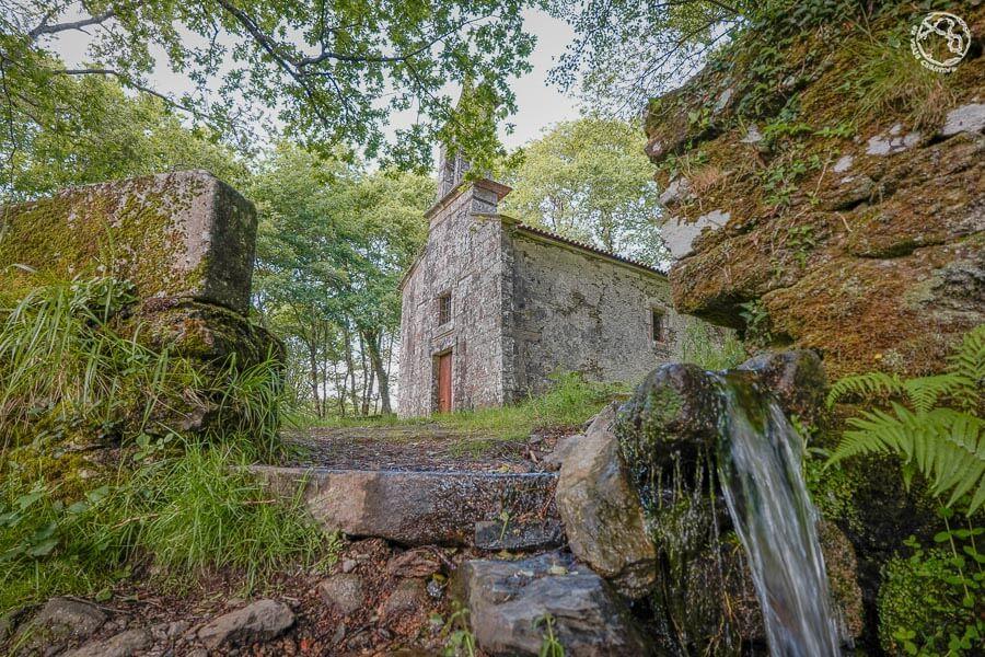 Ermita Augas Santas Trazo