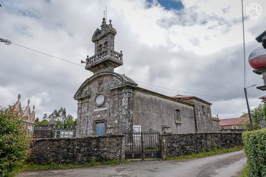 iglesia de Santa María de Restande Trazo