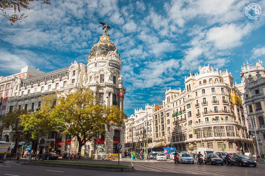 Monumentos de Madrid, edificio Metrópolis
