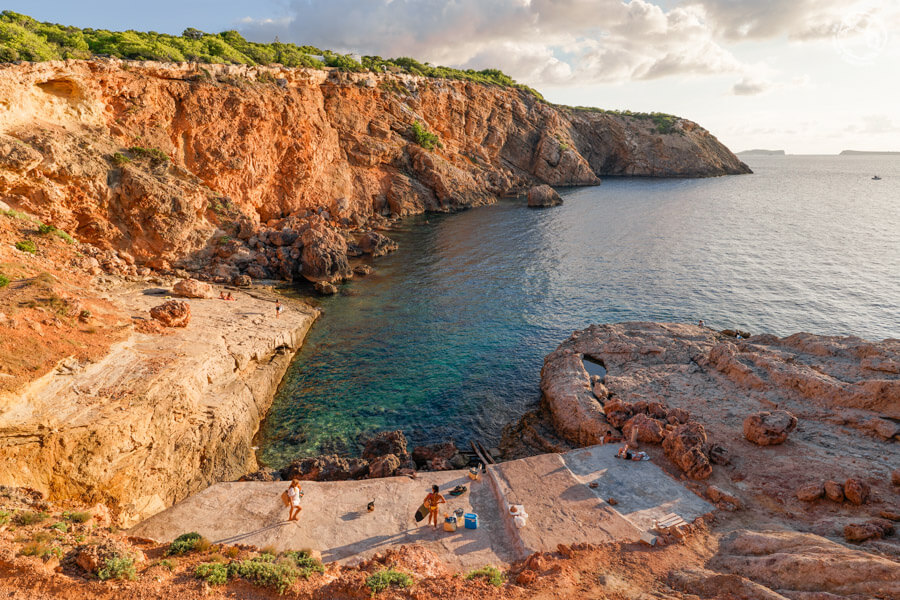 Punta Galera y cala Sa Calera Ibiza