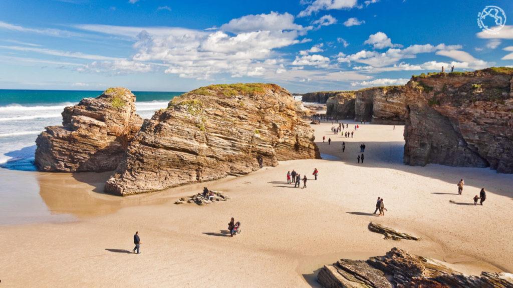 Playa de las Catedrales qué visitar en Galicia