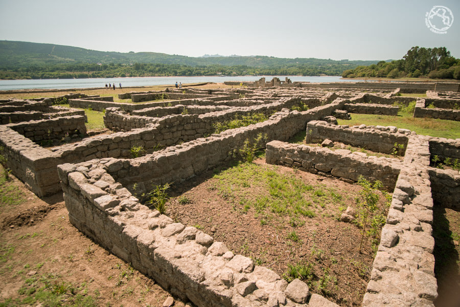 Restos romanos Ourense