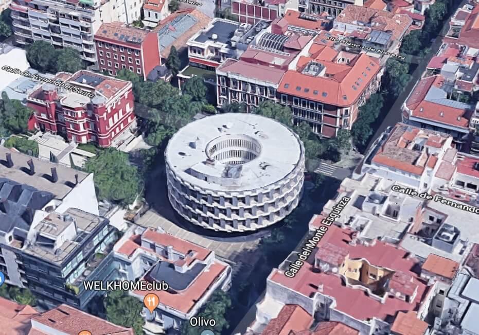 Arquitectura rara Madrid