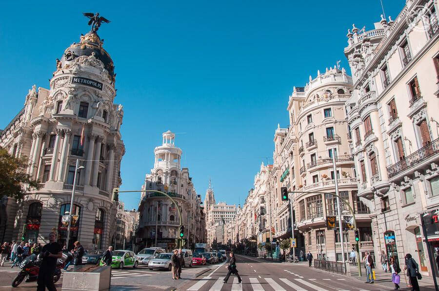 Madrid en 2 días, Gran Vía