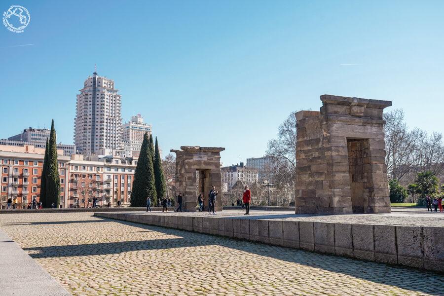 Templo de Debod, ruta Madrid 2 días