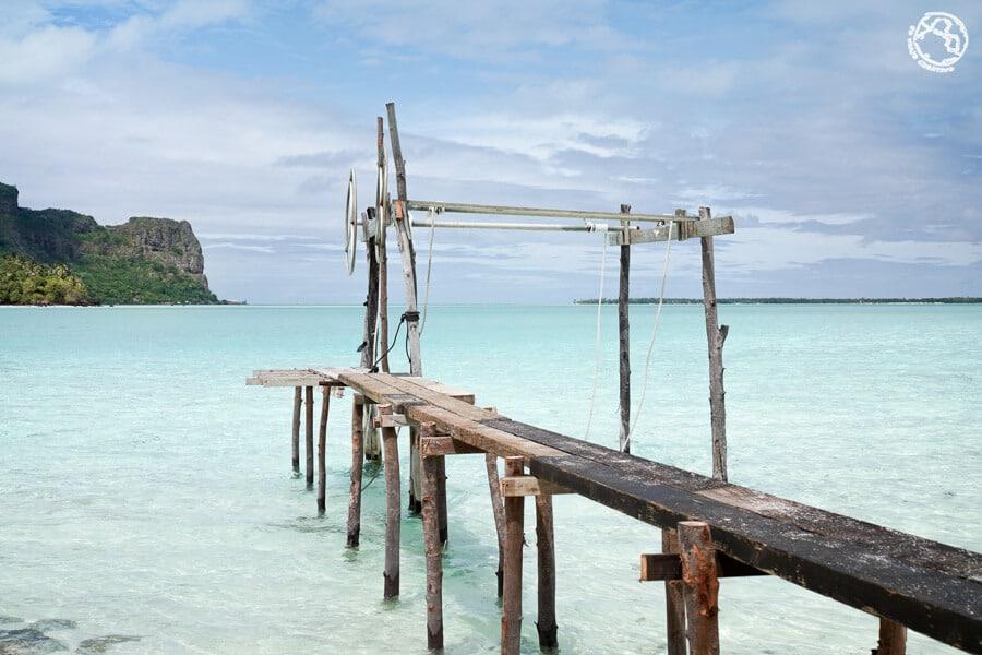 Maupiti Islas de la Sociedad