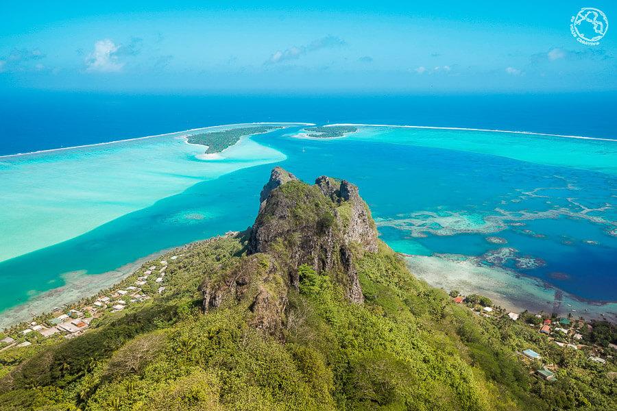 Tahiti Bora Bora Maupiti islas de la Sociedad
