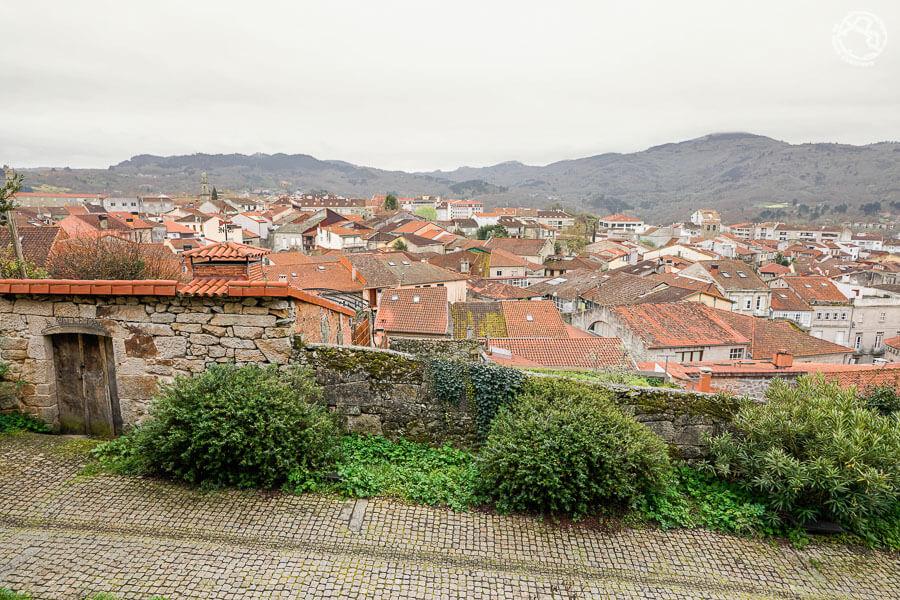 Mirador del castillo en Allariz