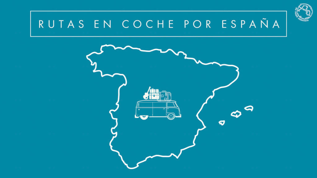 Rutas en coche por España mapa