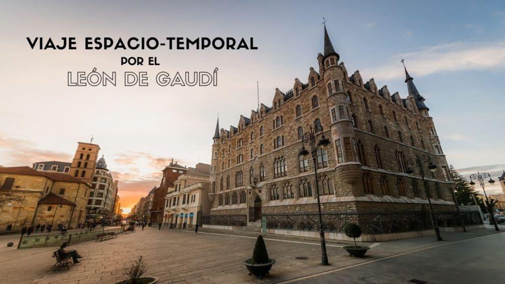 Casa Botines y el León de Gaudí