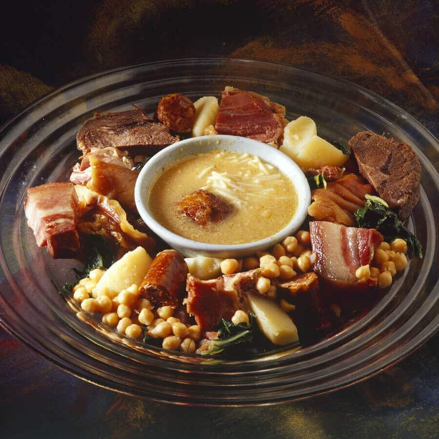cocido maragato, comida típica de Leon