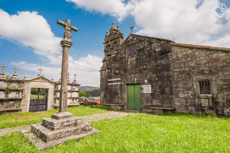 Iglesia San Martiño de Ozón, Coruña