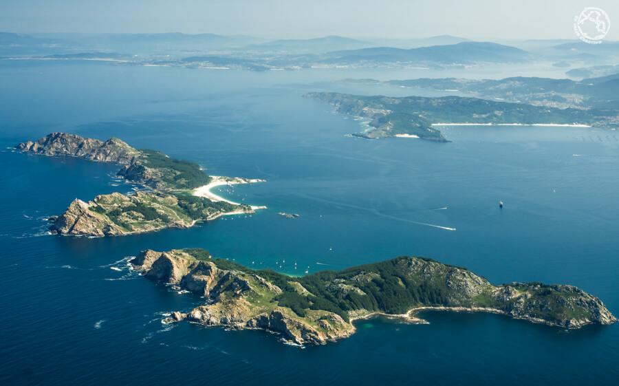 Islas Cíes, Galicia, norte de España