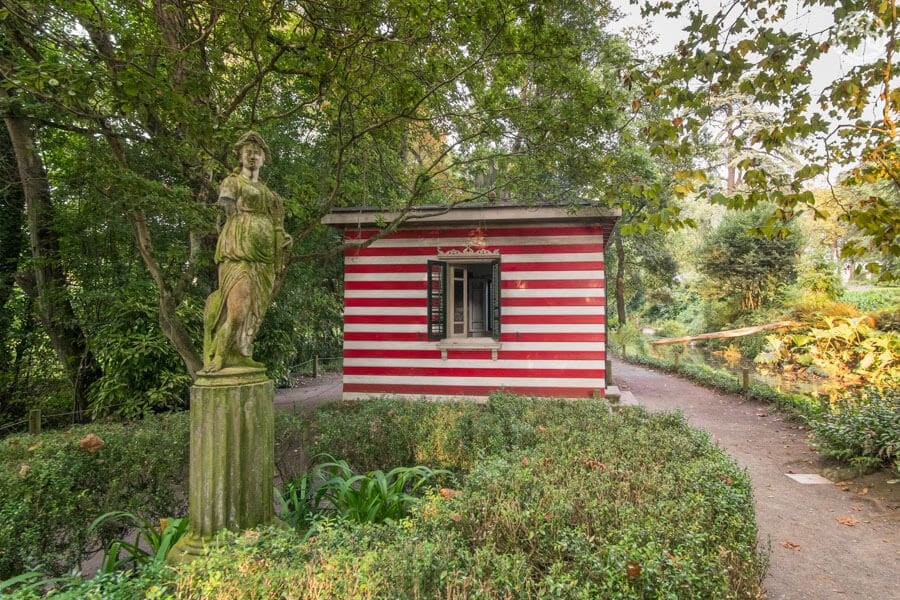 Casa de Baños Jardín botánico