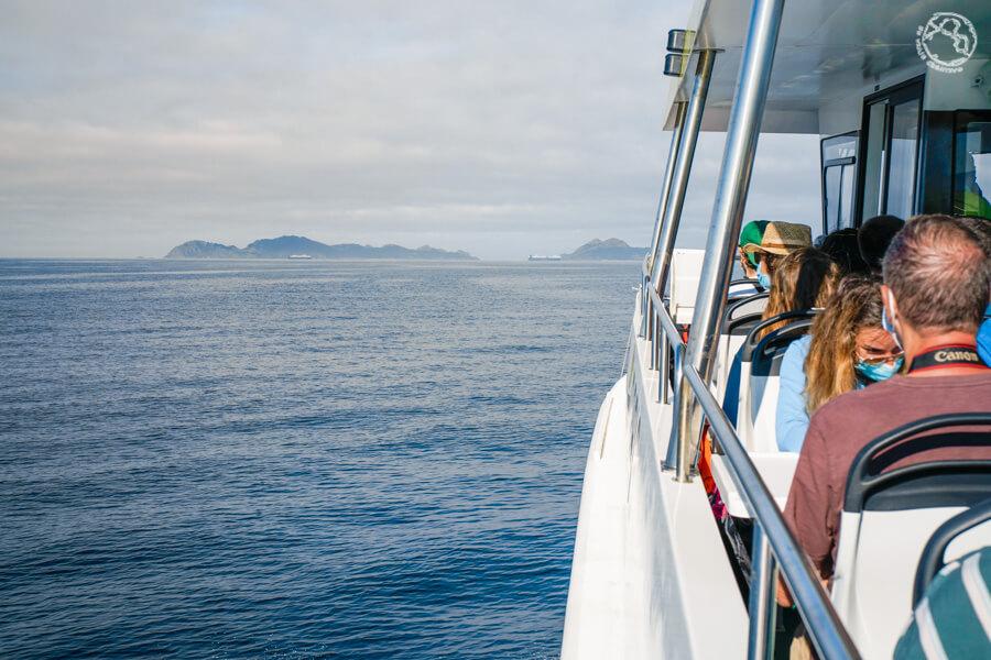 Barco a Cíes autorización