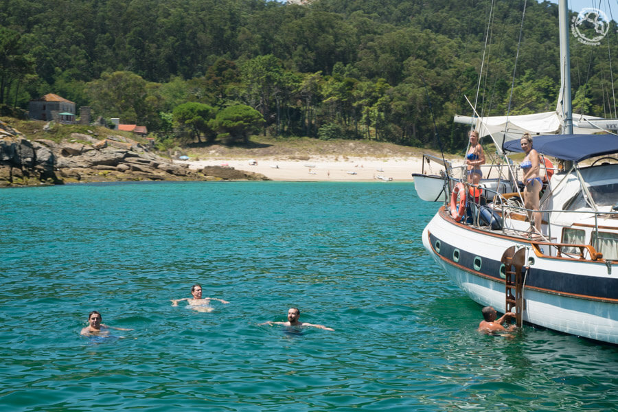 Visitar Cíes en barco