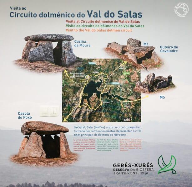 ruta de dólmenes del Valle do Salas