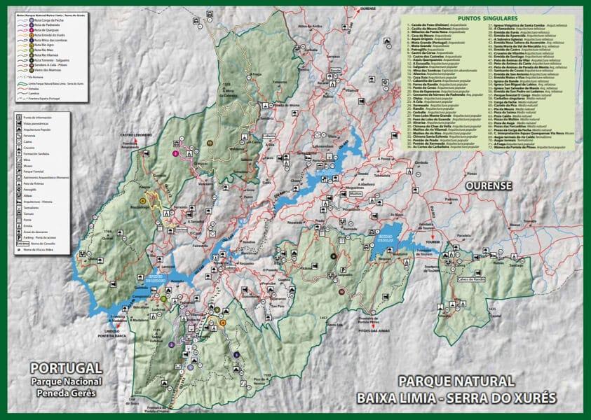 Rutas Parque Natural Baixa Limia  Serra Do Xures