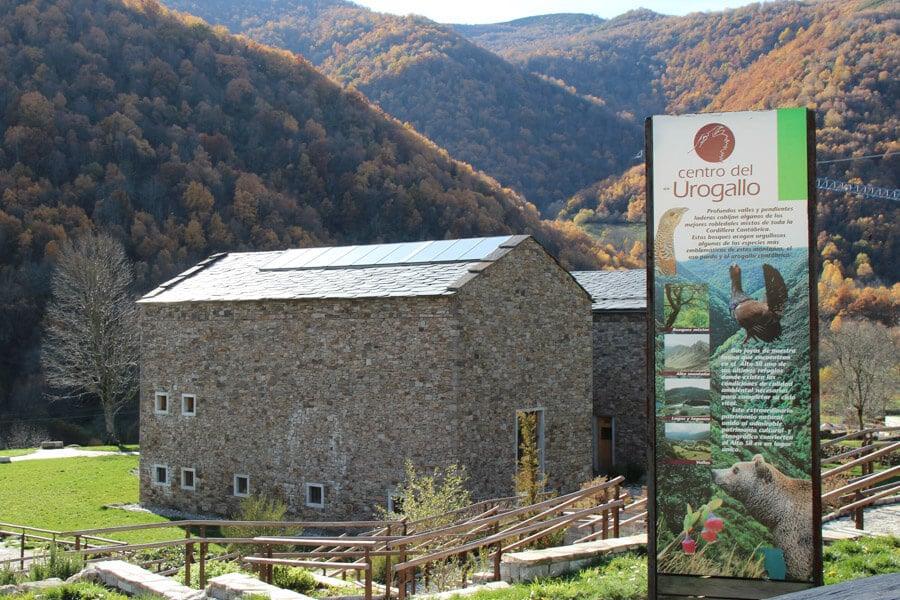 Centro de Interpretación del Urogallo valle de Laciana