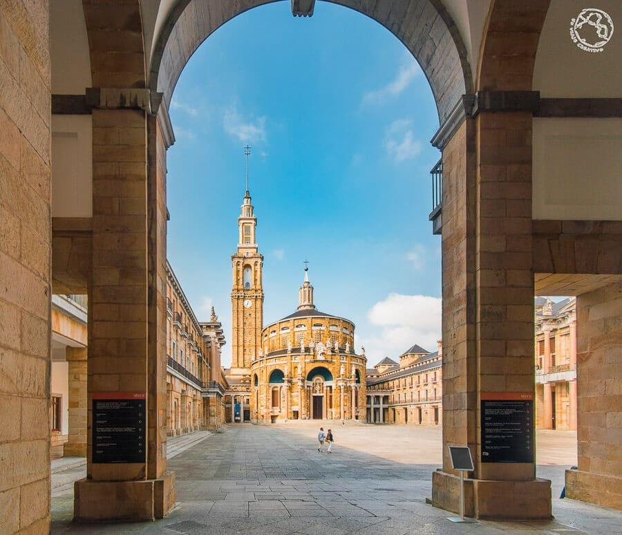 Universidad Laboral Gijón ciudad de la Cultura