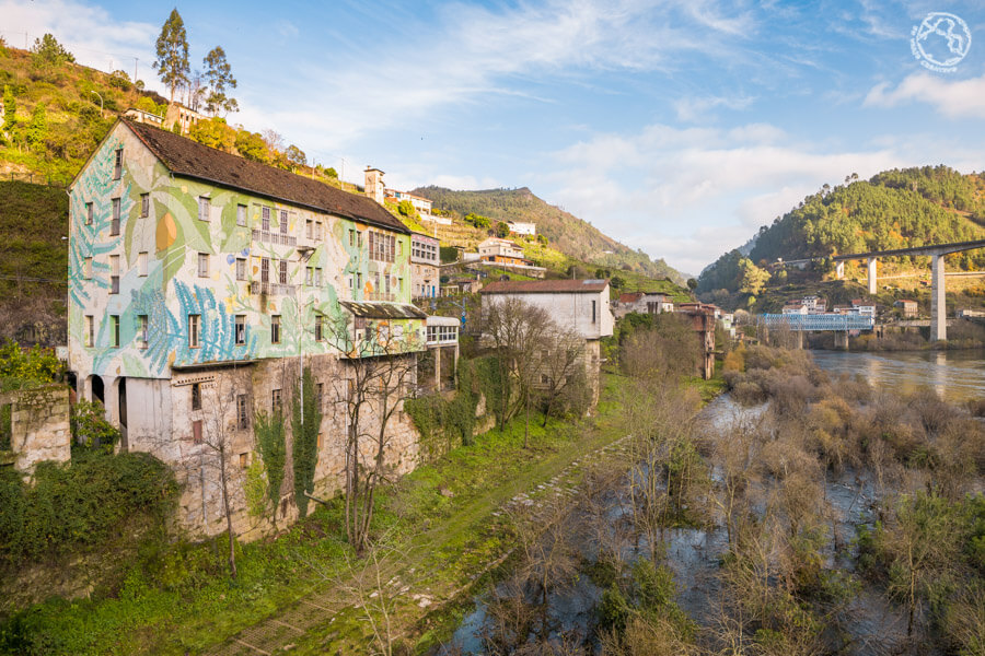 Os Peares Ourense murales