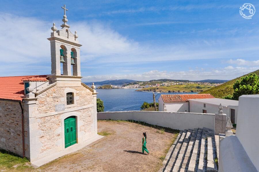 Ermita de San Adrián Malpica Paisajes de Galicia viaje