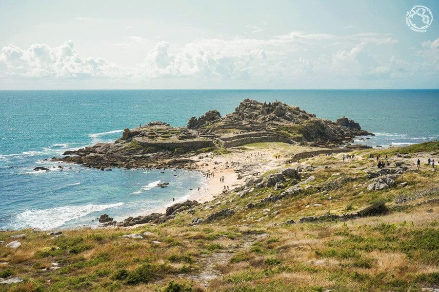 Paisajes de Galicia Castro de Baroña
